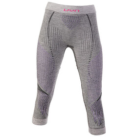 UYN Fusyon UW Medium Pants Dame anthracite/purple/pink